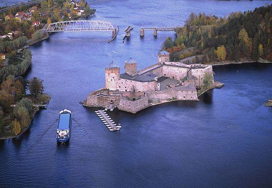 Castello Olavinlinna di Savonlinna