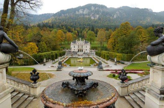 Water Garden at Schloss Linderhof