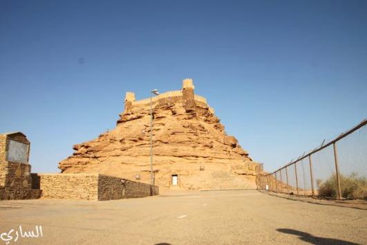 Castello Za'bal di Sakaka