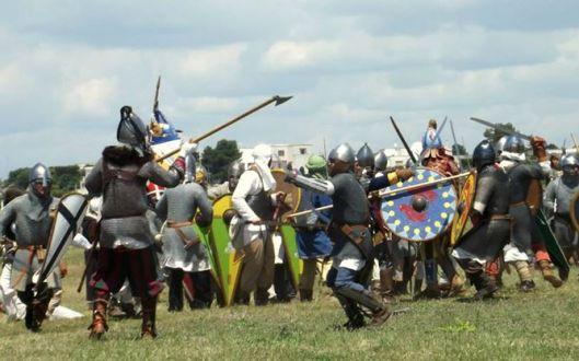 Rievocazione della battaglia Battaglia tra Normanni e Bizantini dell'XI secolo