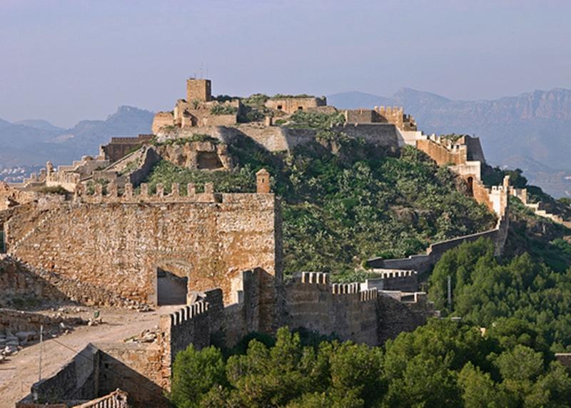 Castello di sagunto castlesintheworld - Tanatorio puerto de sagunto ...
