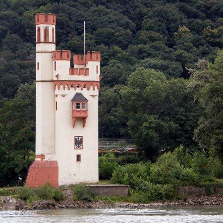 Castello di Bingen Maueseinsel