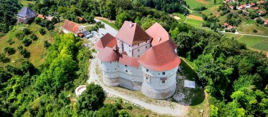 Castello di Veliki Tabor in Croazia.